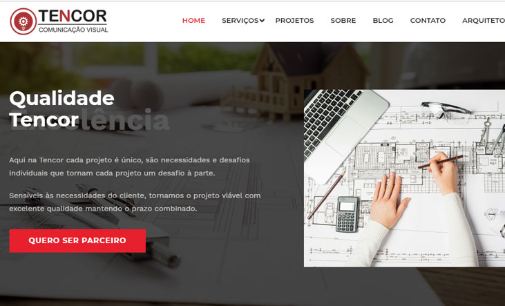 Criamos o novo site da Tencor - Agência Next Step