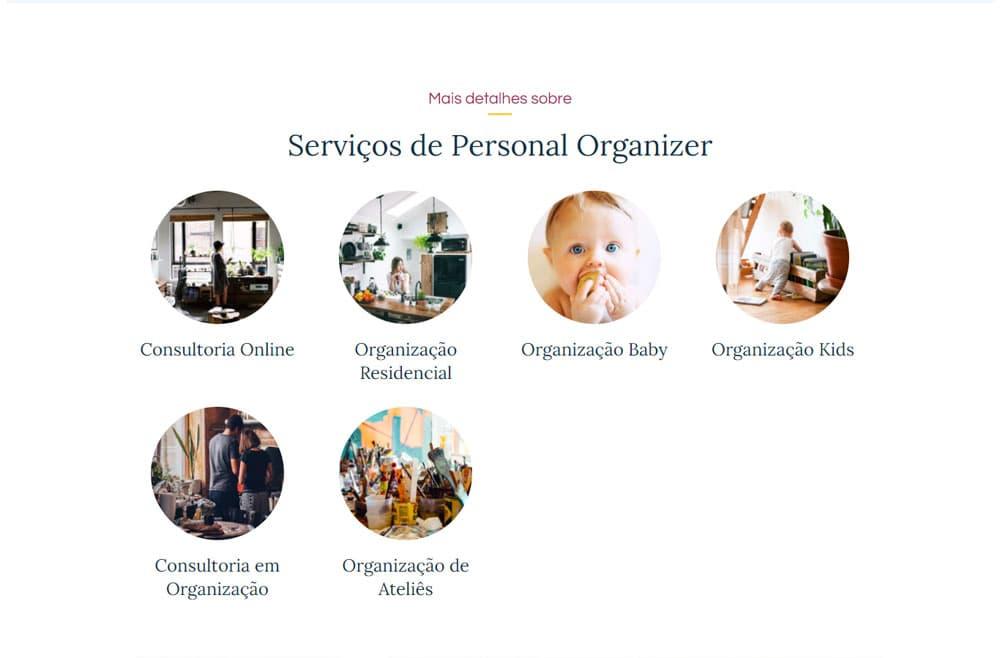 Criamos o site da Nice Ripoli Personal Organizer - Agência Next Step - Criação de Sites e Consultoria SEO