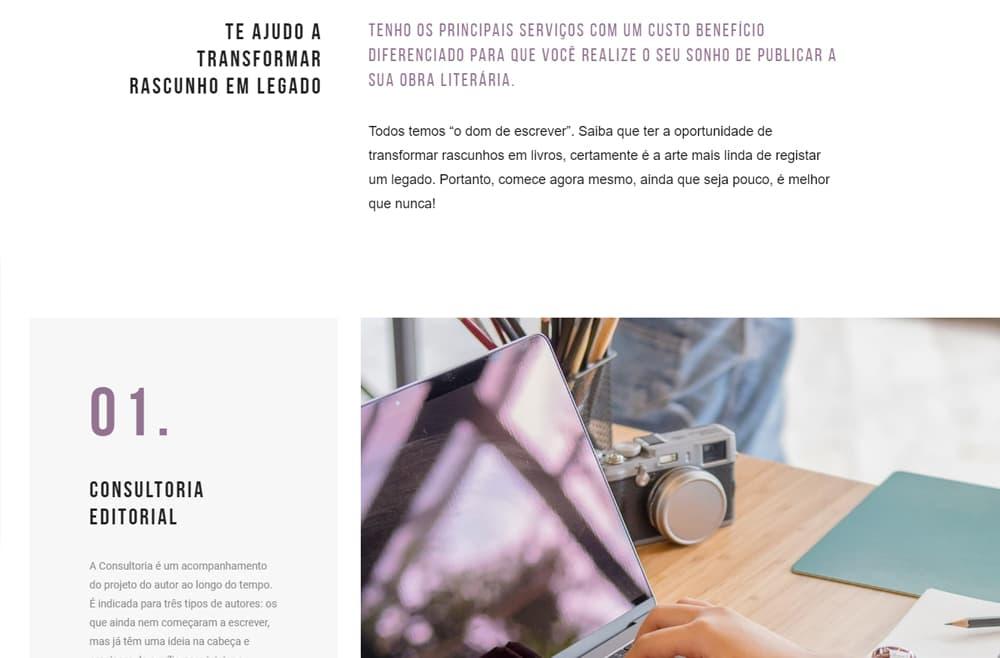 Criamos o site da Thassia Andrade - Agência Next Step - Criação de Sites e Consultoria SEO