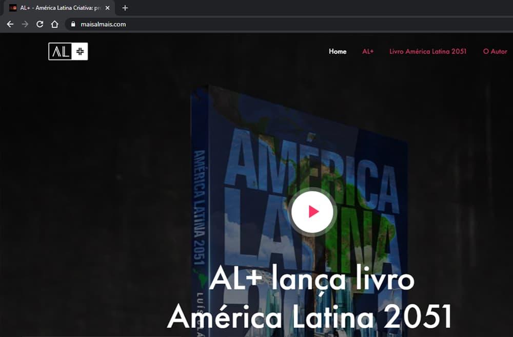 Criamos o site AL+ América Latina - Agência Next Step - Criação de Sites, Consultoria SEO e Hospedagem de Sites em Suzano - SP